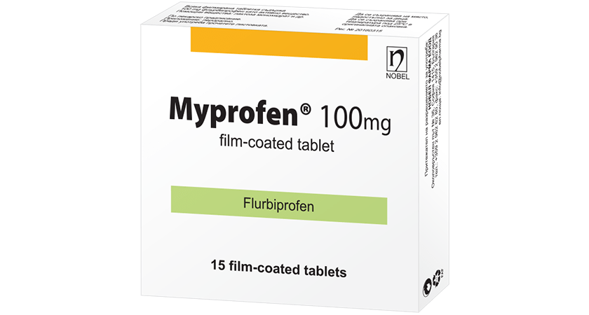 Myprofen 100mg 15 Film Coated Tablets